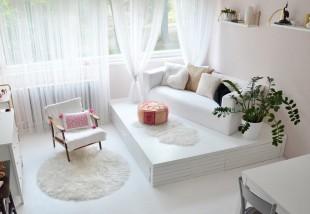 Panelfelújítás házilag - Másfél szobás lakás átalakulása képekben
