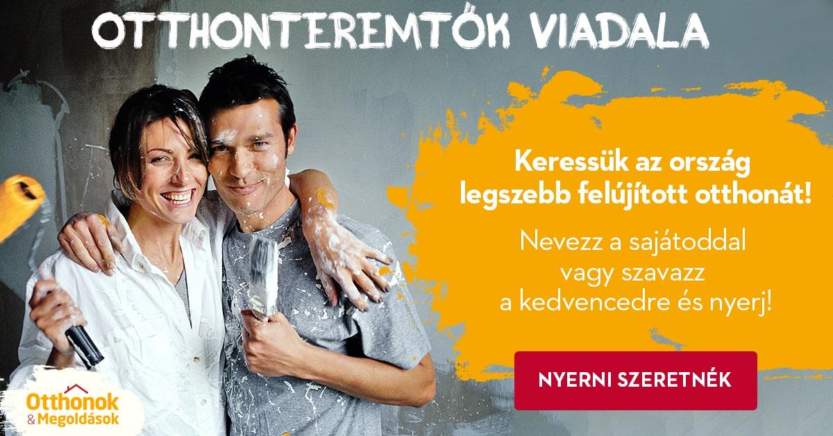 Otthonteremtők Viadala 2.0 - Ismét az ország legszebb felújítását keressük!