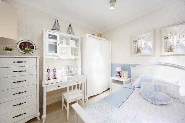 Klasszikus fehér hálószoba