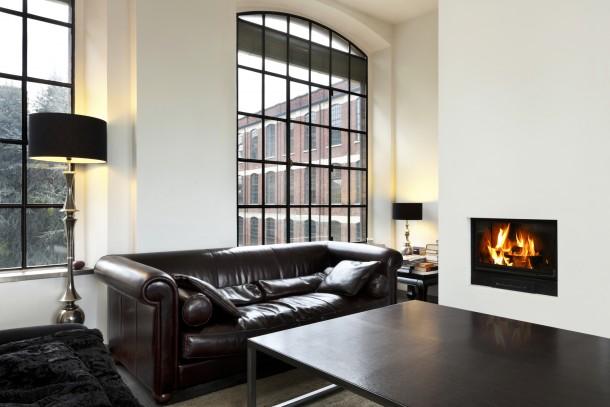 Klasszikus fekete nappali