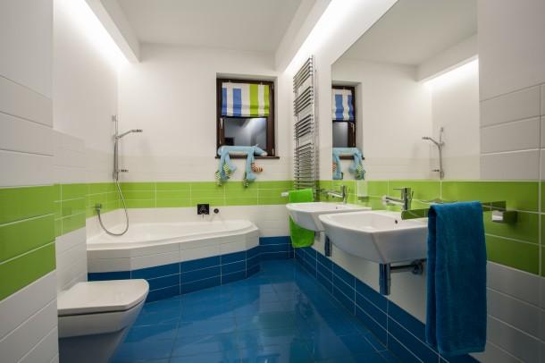 Klasszikus hideg fürdőszoba