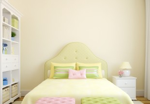 Klasszikus pasztell hálószoba