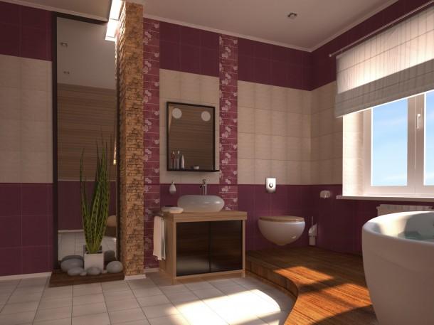Nőies hideg fürdőszoba