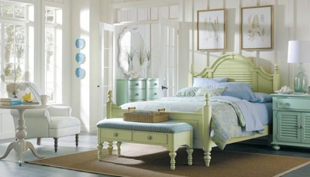 Nőies pasztell hálószoba