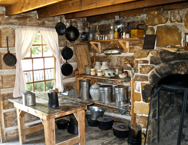 Rusztikus hideg konyha