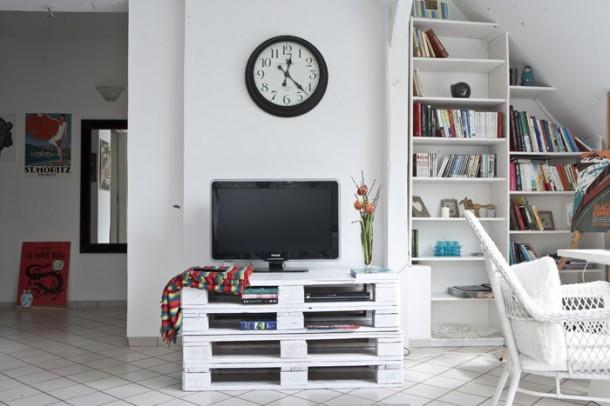Raklap bútor – Így készíts gyorsan divatos raklap bútort!