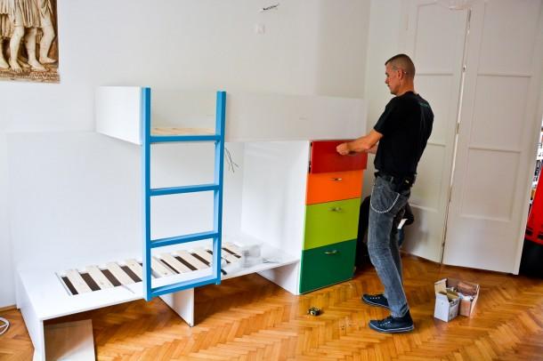 Motivációs emeletes ágy - Így készítheted el te is!