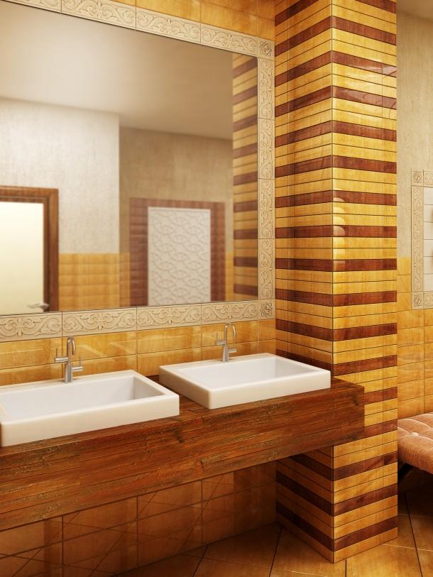 Egzotikus meleg fürdőszoba