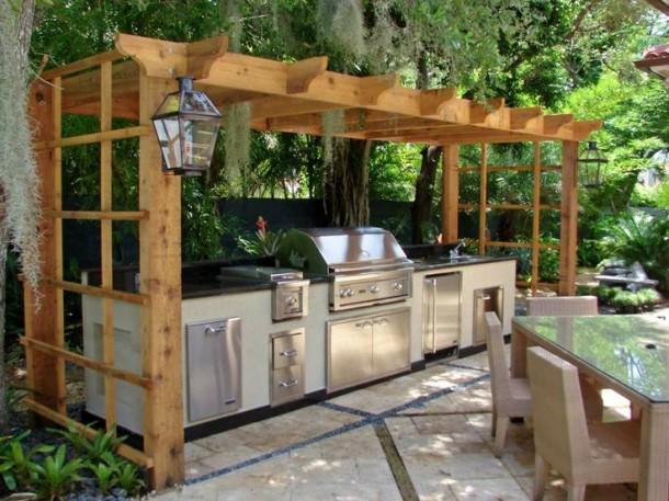 Nyiss a szabadba: építs nyári konyhát!