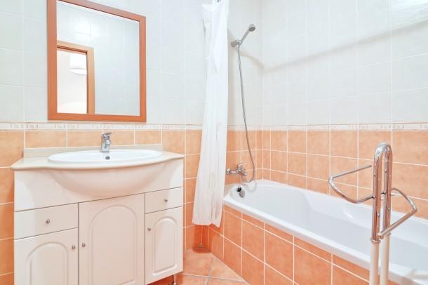 Retro meleg fürdőszoba