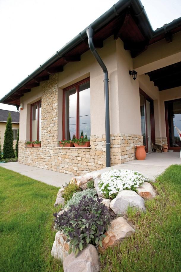 Modern mediterrán ház Veresegyházán