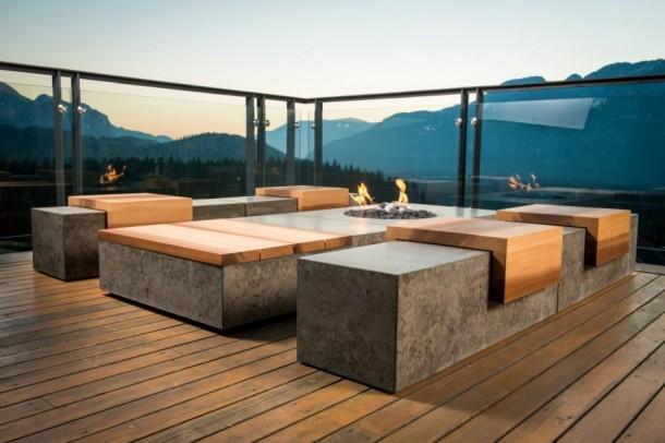 Beton, de nem panel! Inspiráló beton belterű otthonok