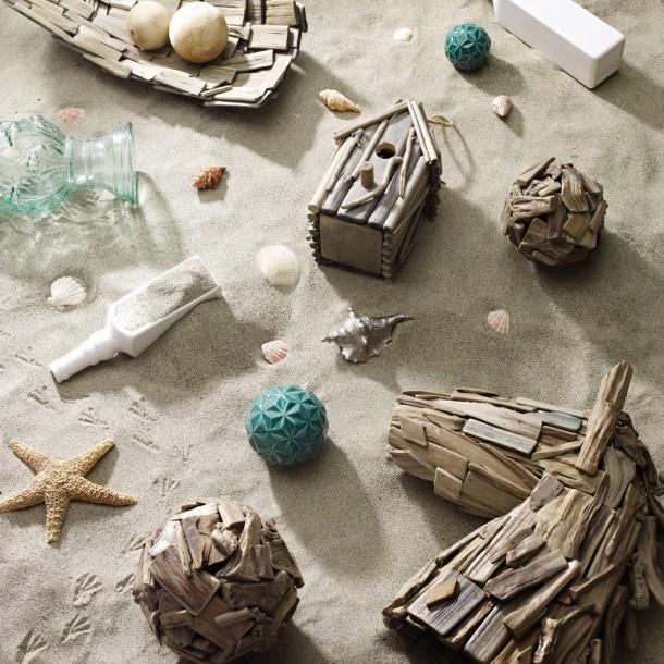 Gyönyörű tárgyak uszadékfából