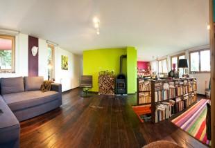 Így újítottak fel egy kétszintes házat Leányfalun - gyönyörű lett!