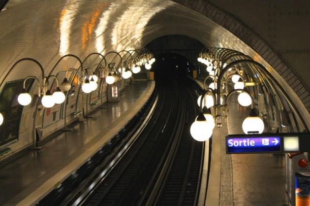 A párizsi metróban is láthatod