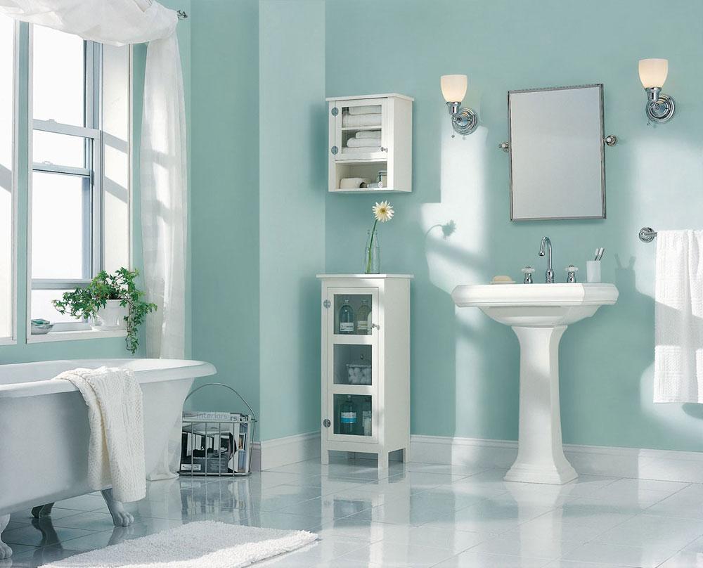 Mosható falfesték fürdőszobába