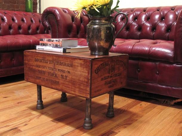 Ez az asztal masszívabb dobozból készült