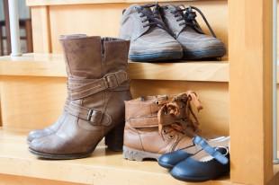 20 téli cipőtároló és tisztító tipp
