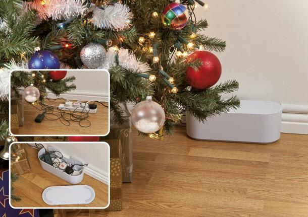Karácsonykor is probléma a kábelrengeteg. Gondolj rá időben!