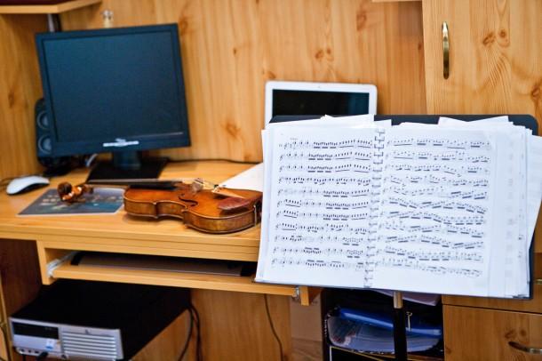 Illényi Katica otthona - Vendégségben a hegedűművésznél