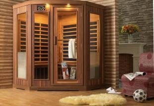 Wellness otthon: infraszauna a lakásban