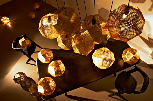 Izgalmas formák, lokális fények