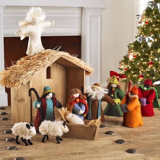 Ide született a kis Jézus