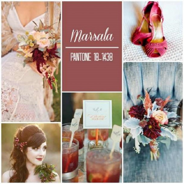 Őszi esküvők divatszíne lehet