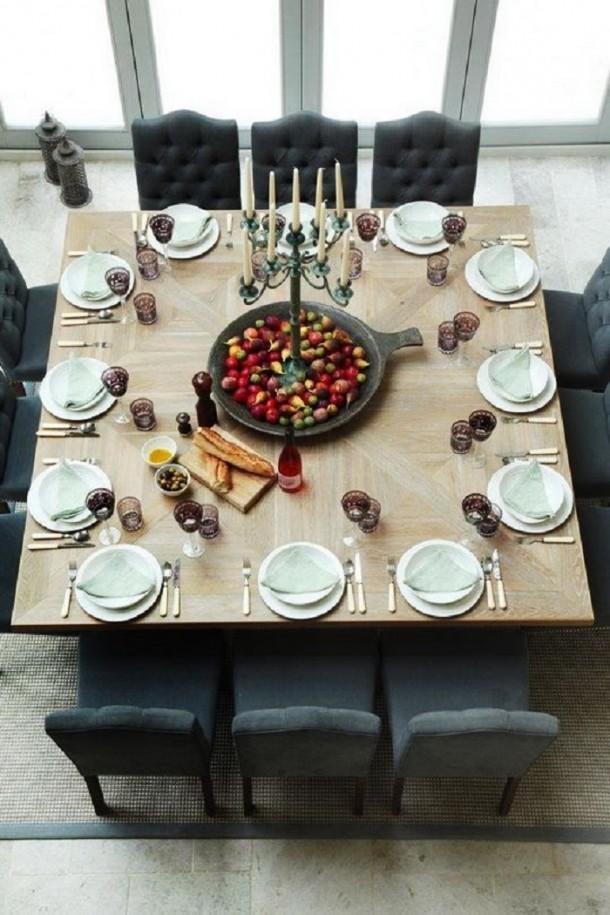 Jó, ha a család körbe tudja ülni az étkezőasztalt