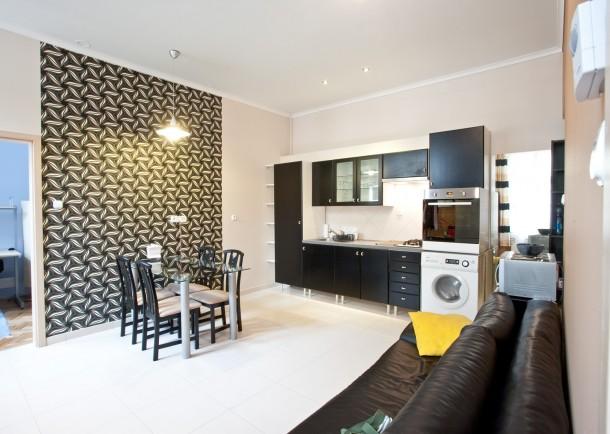 Tárhelyben gazdag 55 négyzetméteres budapesti kis lakás