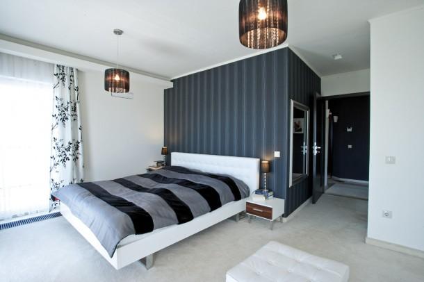 A kényelmes, nagy hálószoba