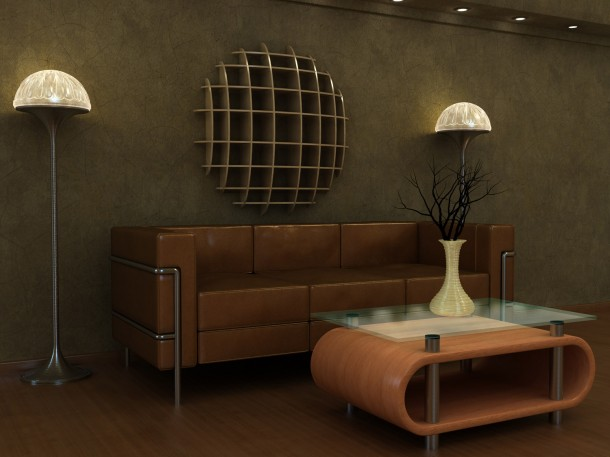 Art deco hangulatú szoba