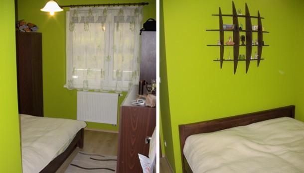 Andrea hálószobája