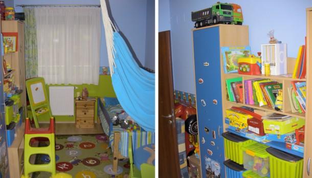 Áron szobája igazi gyerekbirodalom