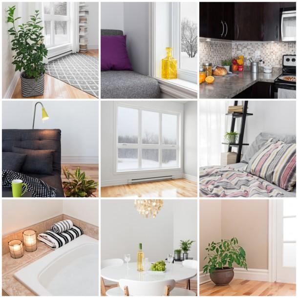 Különböző fényforrásokkal a helyiségek világosságát fokozhatjuk