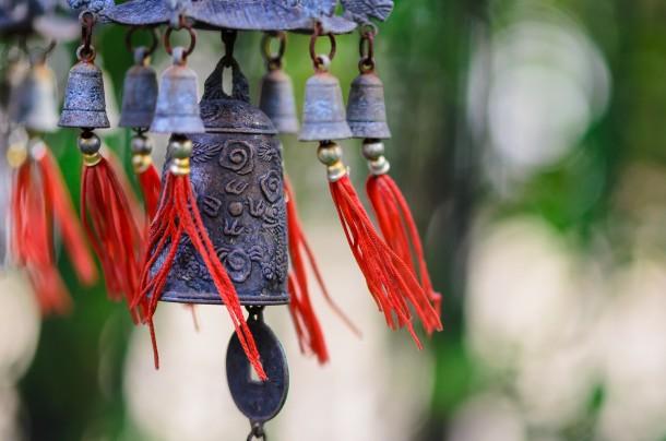 Szélcsengő nélkül nehezen képzelhető el egy feng shui otthon