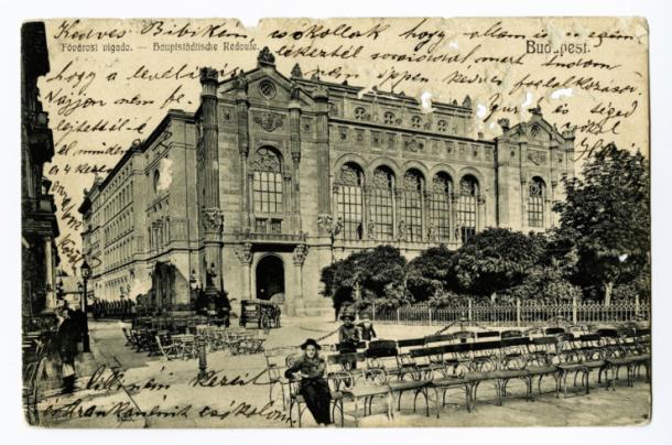 A Vigadó archív felvételen