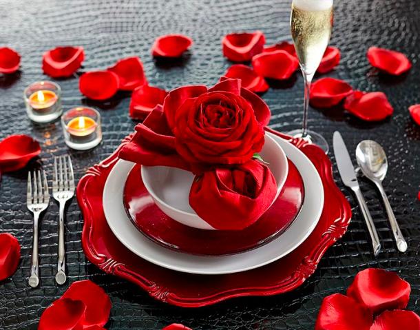 Romantikus teríték
