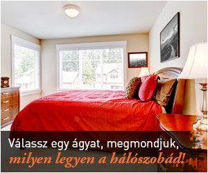 Válassz egy ágyat, megmondjuk, milyen legyen a hálószobád!