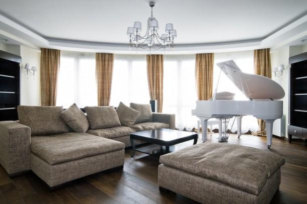 Minőségi bútorok és zongora - a Bikák imádják