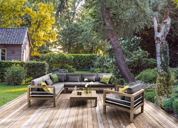 A kerti bútorok egyre időjárásállóbbak