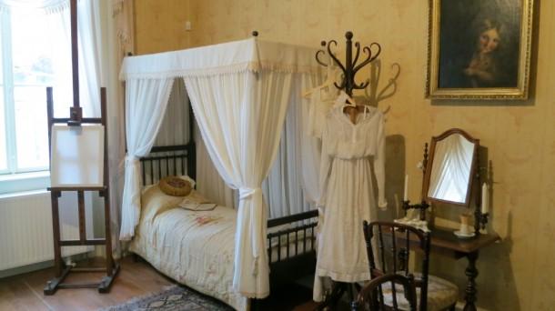 A kis Róza, a későbbi Feszty Árpádné szobája