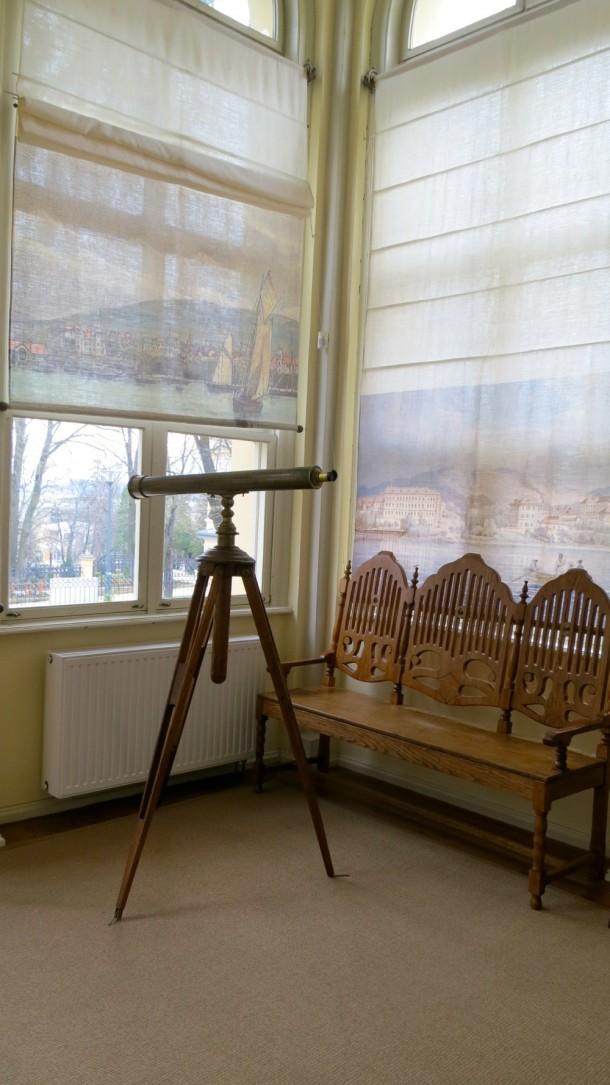 Egy márciusi ifjú pihenőhelye: Jókai Mór villája