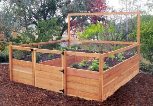 Kertészkedés terepasztalon: a magaságyás