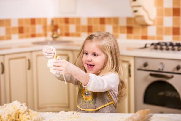A sütikészítés örömteli feladat