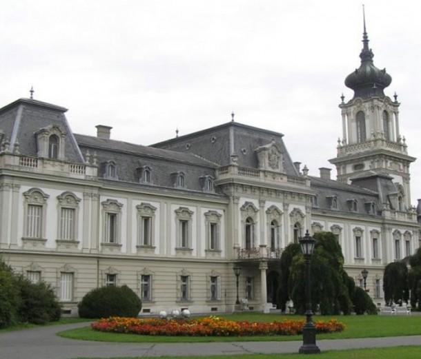 A Festetics kastély csodaszép tetőzete