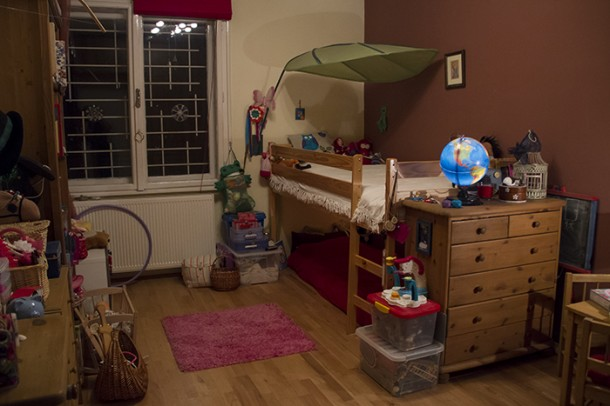 A kislány szobája