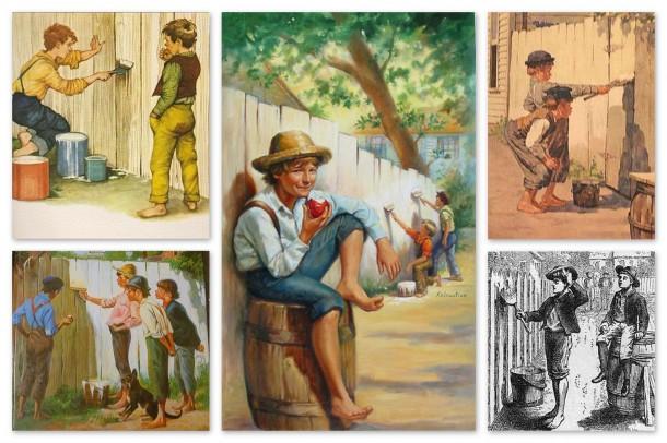 Tom Sawyer óta tudjuk, a kerítésfestés lehet munka, de szórakozás is