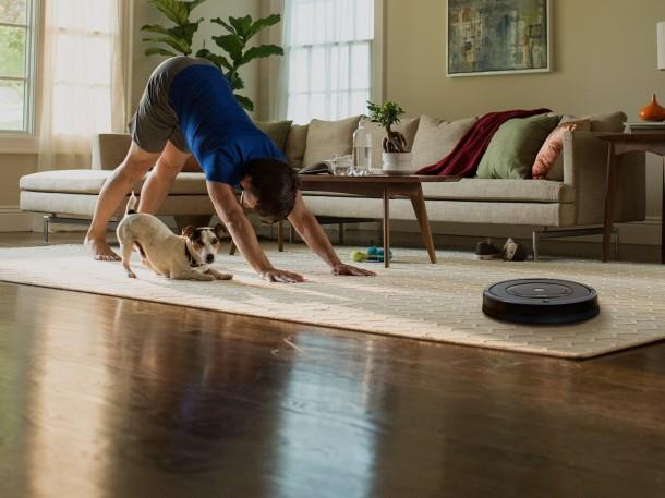 Robot a házban: a robotporszívó
