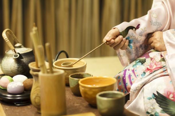 A japán szertartás külön művészet